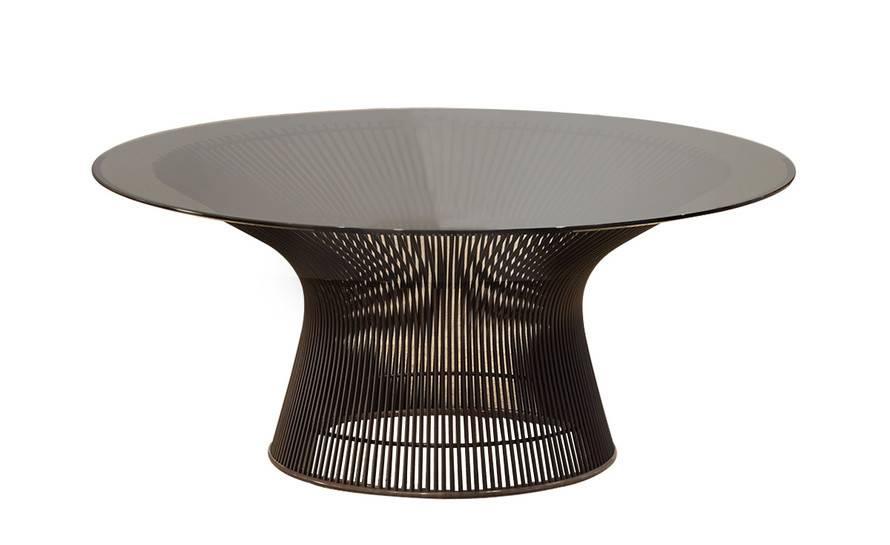 Platner Bronze Coffee Table Hivemodern