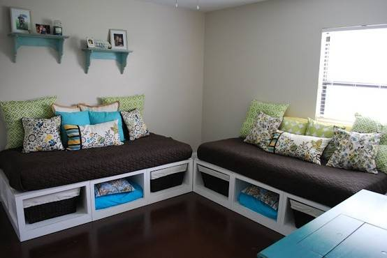 Play Room Great Upcycle Two Crib Mattresses Have Hand