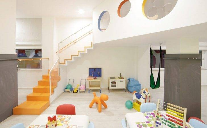 Playful Kindergarten Interior Albania