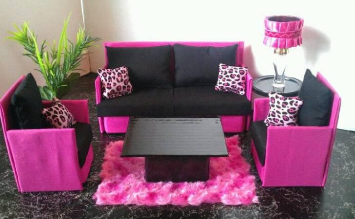 Playscale Furniture Sofa Chairs Set Nanasbarbiefurniture