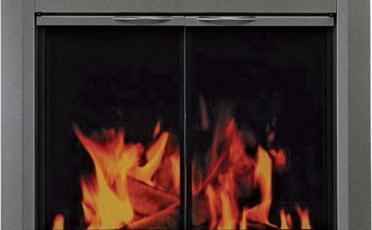 Pleasant Hearth Craton Fireplace Glass Door Masonry Fireplaces