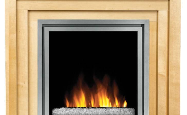 Plug Electric Fireplace Insert Glass Embers