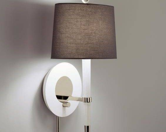 Plug Wall Sconce Stylish Ambiance