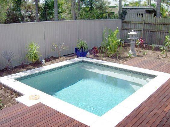 Plunge Pool One Coolest Amenities Your Back Yard