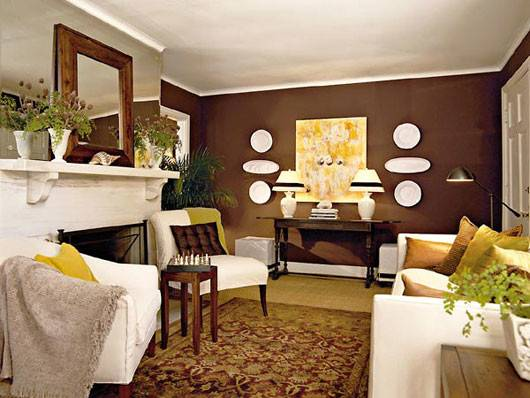 Plushemisphere Coffee Brown Interior Design Ideas