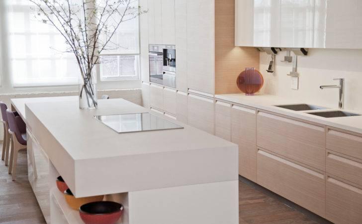 Poliform San Francisco Showroom Display Kitchen Neolith Countertops
