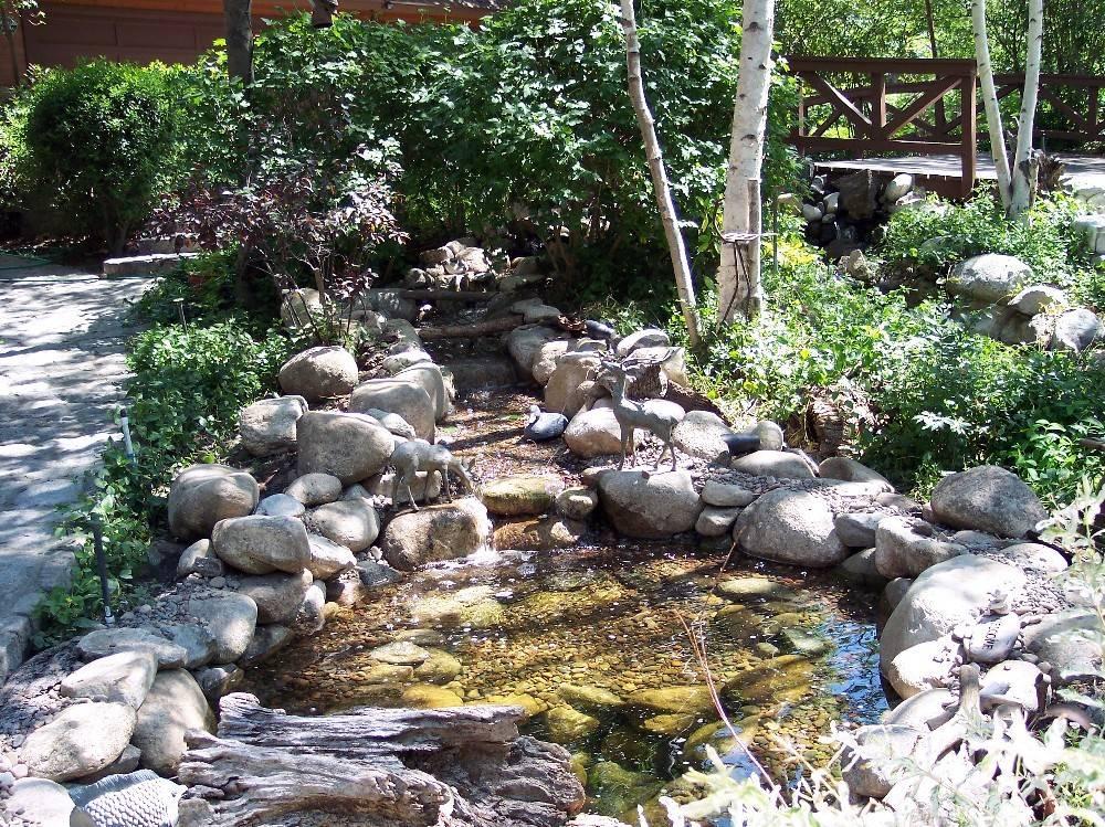 Ponds Waterfalls Streams Schubert Landscaping Custom Outdoor