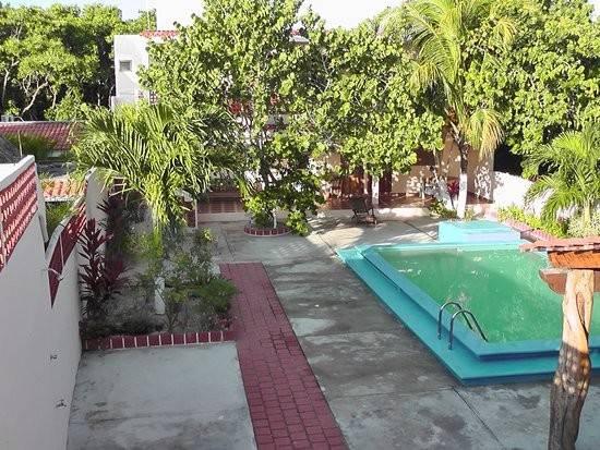 Pool Area Plants Perico Marinero Rio