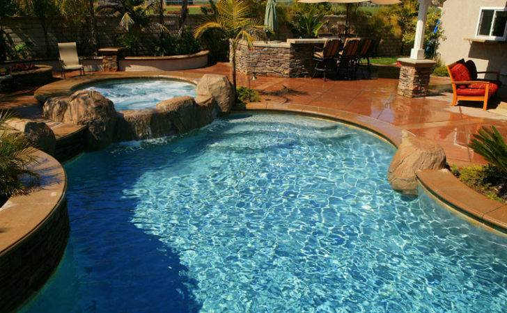 Pool Backyard Designs Cool Natural Inground Swimming Stone