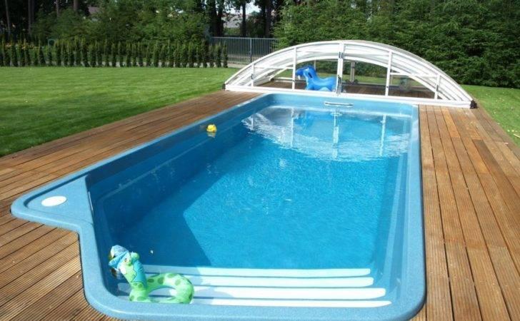 Pool Backyard Designs Elegant Inground Swimming Blue Small