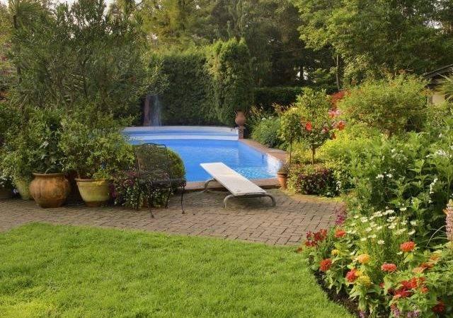 Pool Beautiful Garden Credit Natasha Nicholson Getty