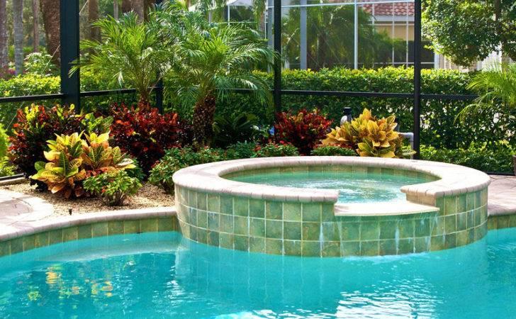 Pool Cage Landscaping Inside Out Sprinkler