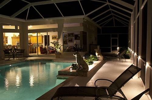 Pool Cage Outdoor Lighting Osprey Florida Flickr Sharing