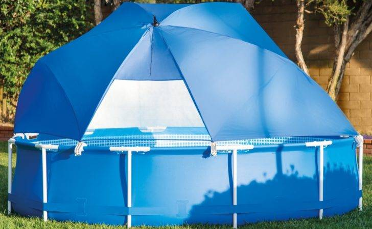 Pool Canopy Above Ground Metal Ultra Frame Swimming Pools