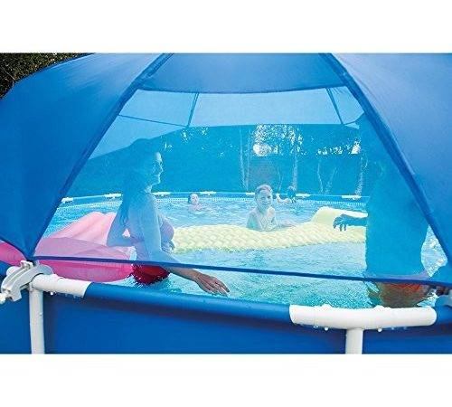 Pool Canopy Shade Metal Frame Ultra Above Ground Pools