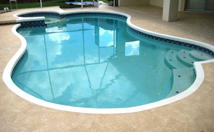 Pool Cool Deck Painting Lutz Land Lakes Wesley Chapel New Tampa