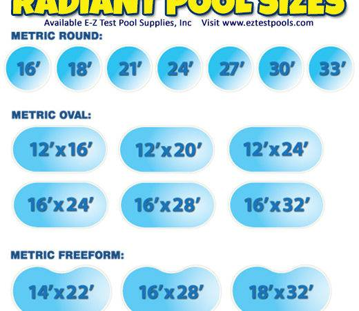 Pool Costs Sizes Information Radiant Brand Swimming Pools
