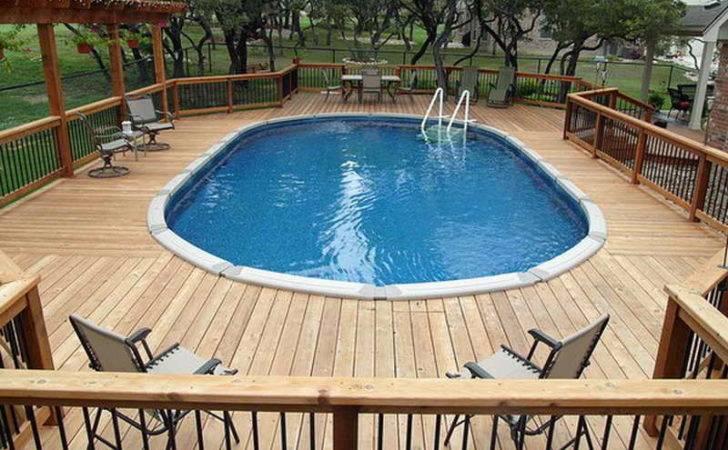 Pool Deck Above Ground Lap Pools