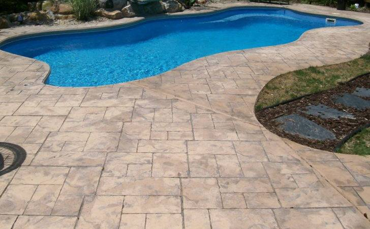 Pool Deck Ideas Inground Pools Home Design