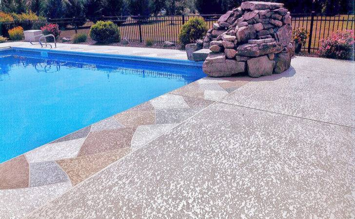 Pool Decking Ideas Creative Resurfacing