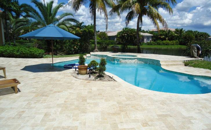 Pool Decking Material Options Available Deck
