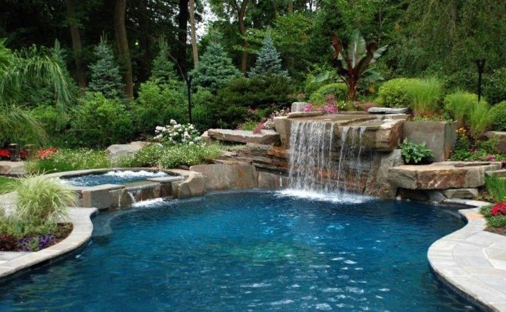 Pool Designs Waterfalls Swimming