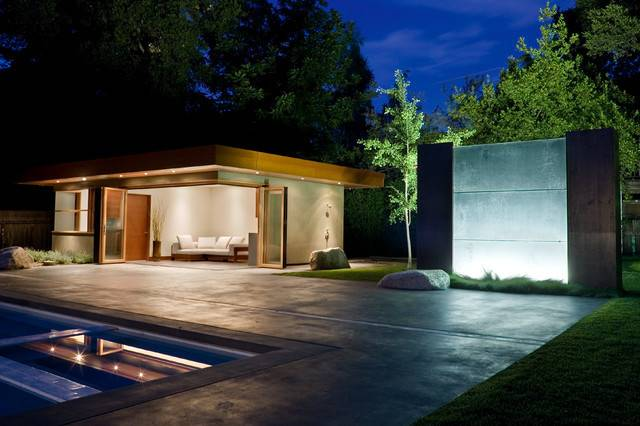 Pool Guest House Contemporary San Francisco