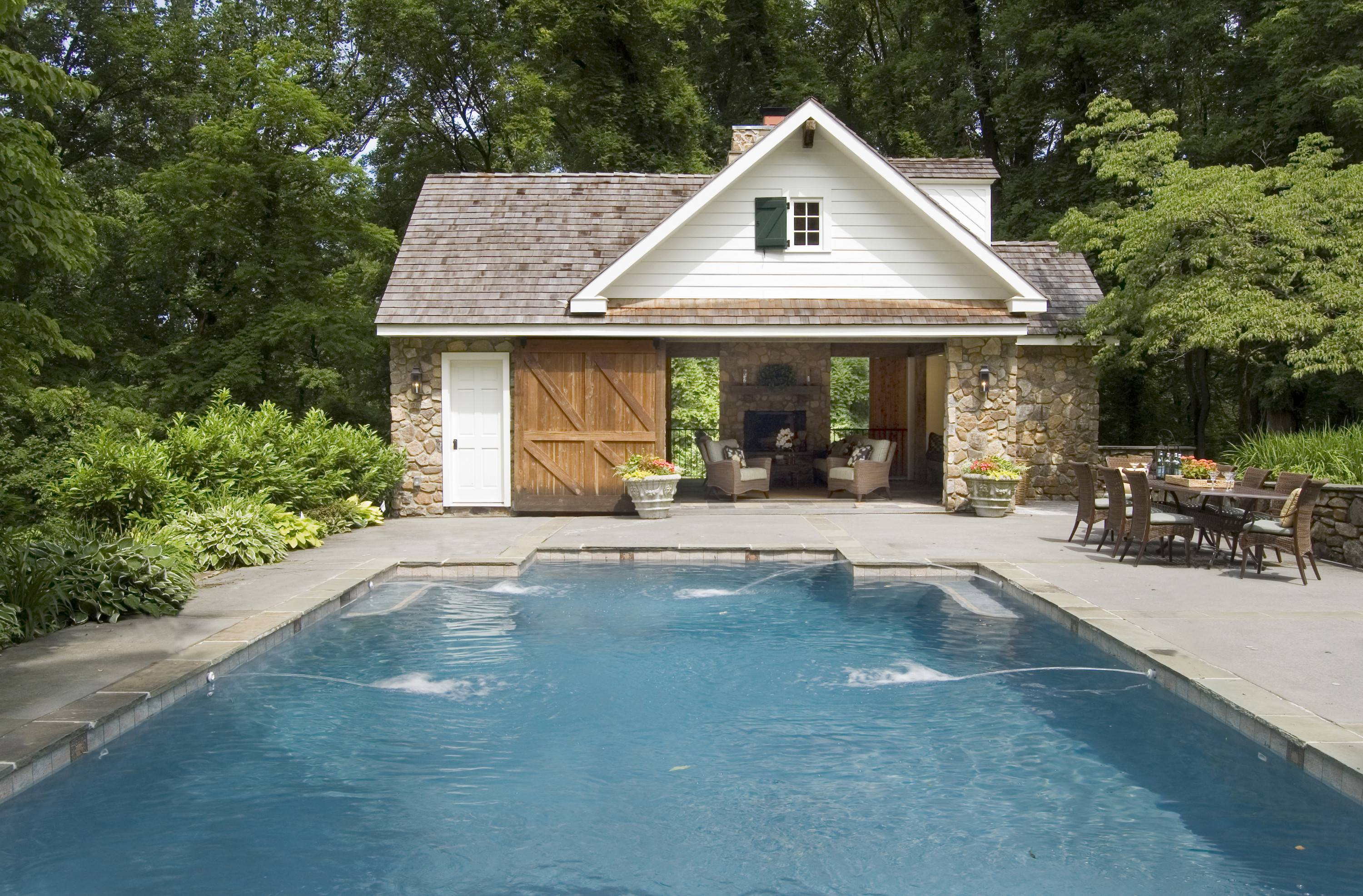 Pool House Architecture Construction Malvern
