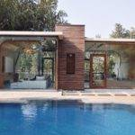 Pool House Architecture Poland Green Swimming