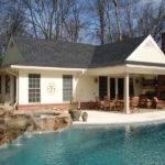 Pool House Fireplace