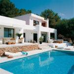 Pool House Mediterranean Style Ibiza Spain Designrulz