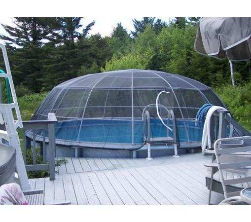 Pool Igloo Above Ground Screen Cage System