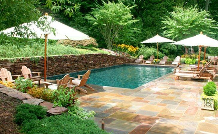 Pool Intended Back Yard Swimming Backyard Ideas