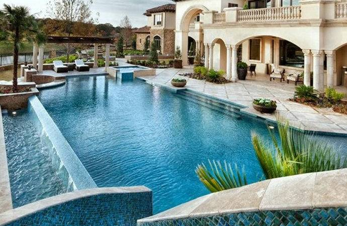 Pool Ladder Swimming Designs Luxury Pools