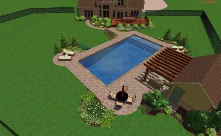 Pool Landscape Design Michigan Designs