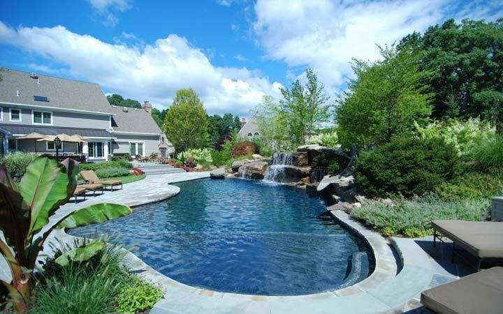 Pool Landscaping Design Ideas Inground Designs