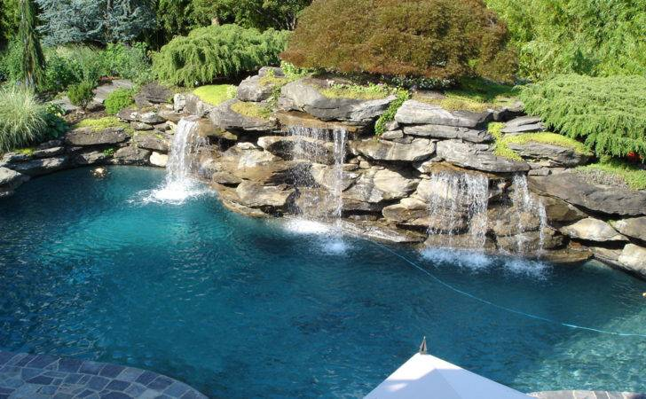 Pool Landscaping Rocks Bee Home Plan Decoration Ideas Living