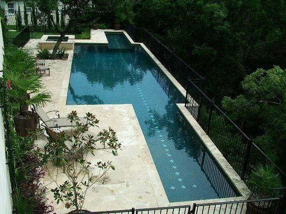 Pool Lap Spa Combo Swimming Pools Pinterest Pop