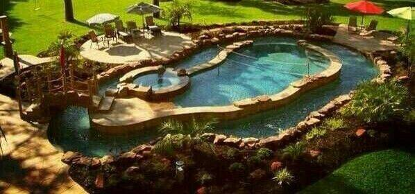 Pool Lazy River Hot Tub Diy Inspiration Style Pinterest