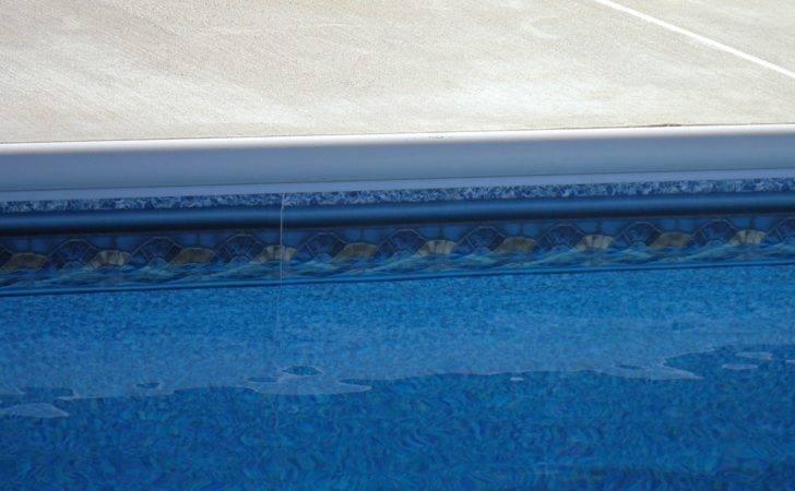 Pool Looks Like Nice Piece Decorative Trim Below Coping