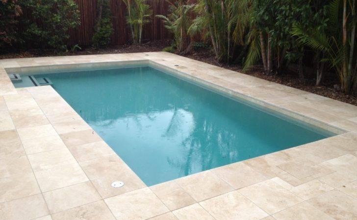 Pool Modern Backyard Designs Rectangular