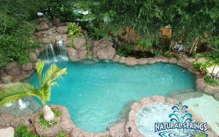 Pool Natural Springs Pools Rock