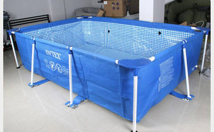 Pool Rectangular Frame Inflatable Swimming
