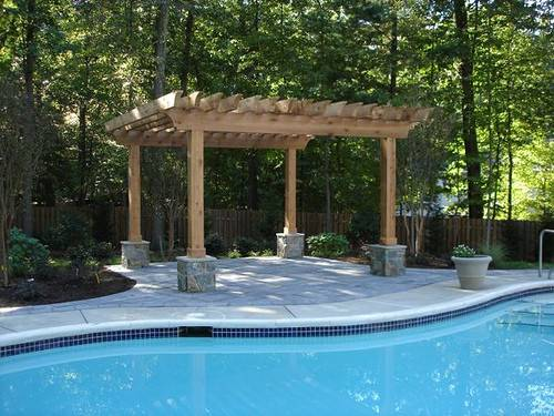Pool Shade Ideas Related Keywords Suggestions Swimming