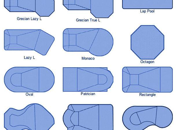 Pool Shapes Sizes Home Design
