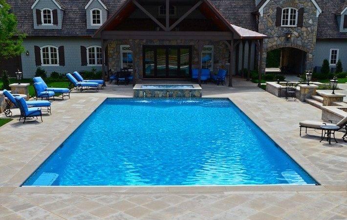 Pool Spa Design Offer Clear Destination Focal Point