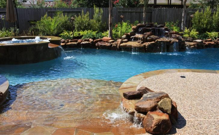 Pool Spa Waterfall Shares Share