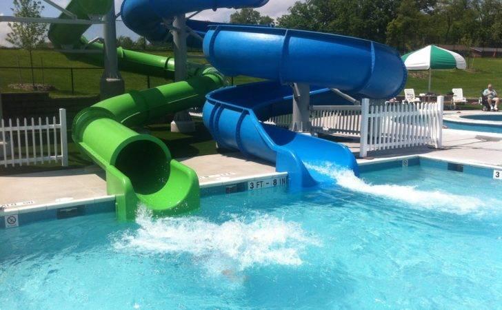 Pool Swimming Designs Slides