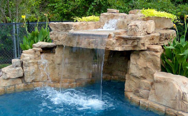 Pool Waterfall Design Beautiful Custom Waterfalls Your