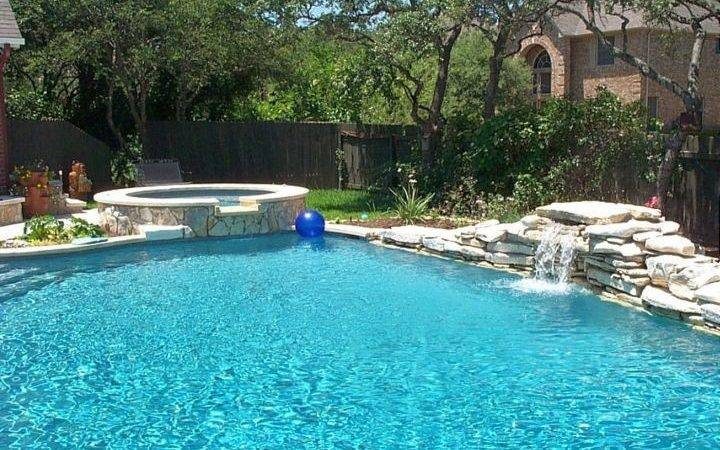 Pool Waterfall Ideas